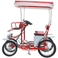 China Factory Entertainment Outdoor Recreation Product Pedal Four wheel Bicycle For Family