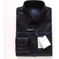 Spring and Autumn Hot Stylish Black Cotton Slim Fit Mens Dress Shirt