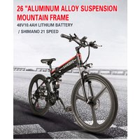 26 inch foldable electric bicycle