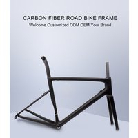 OEM ODM SL6 2019 New Model New Design TOP Selling China OEM S-W sl6 carbon road bicycle frame with OME LOGO