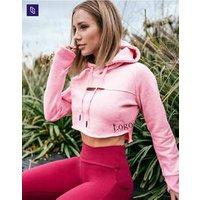 OEM/ODM Sweatshirts high quality Women Long Sleeve crop top hoodie