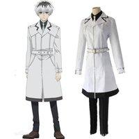 Coldker Hot Tokyo Ghoul re Sasaki Haise Suit Set  Coat Pant  Cosplay Costume Dress Shirt Kaneki Ken