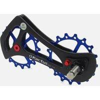 Bicycle Parts Bike Carbon Fiber cages 17T Bicycle Rear Derailleur Pulleys Wheel For rear derailleur