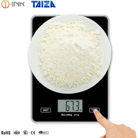 'Custom Table Top Measuring Food Fruit Vegetable Nutrition 5000g Max D=1g Electronic Digital Kitchen Weighing Scale