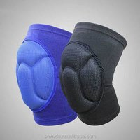 'Protective Volleyball Knee Pads Thick Sponge Anti-collision Kneepads Protector Non-slip Wrestling Dance Knee Pads