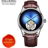 ENLOONG Real Tourbillon Luxury Mens Watch with Flying Tourbillon Movement Sapphire Mechanical rollex man wrist oem watch luxury
