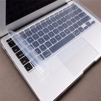 'Waterproof Dustproof Keyboard Cover Case Clear Silicone Keyboard Protector Skin For Mac 13inch 14inch Laptop For Dell For Hp