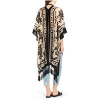New style hot selling burnout velvet  sleeveless women causal cardigan kimono