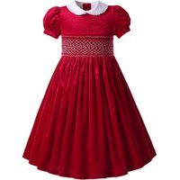 Pettigirl Fall Smocked Dresses Hand Smocked Birthday Dress For kids Smock