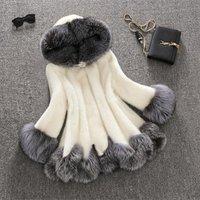 Factory wholesale ladies fashion winter warm thicken coat faux fur jacket best selling women fox fur coat