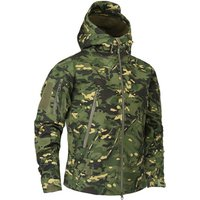 TAD Military Tactical Softshell Jacket Waterproof Army Camouflage Coat  Outdoor Hiking Sport Clothing