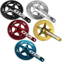 Fixie Bike Components Integrated Crank Chainwheel 48T Track Cycle CNC OEM Fixed Gear Bicycle Parts Fixie Bicycle Crankset