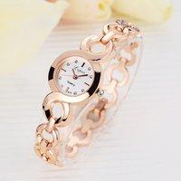 Lvpai Brand Stainless Steel Dress Girls Quartz Bracelet Watch Ladies Fashion Women Crystal Wrist Watch