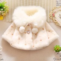 2019 baby coats winter clothes fall and winter childrens clothing Korean girls thick plush jacket baby princess coat