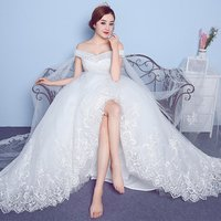 New Arrival  Full Lace Sequined Beaded Plus size Maternity Wedding Dress Puffy ball gown For Pregnant Women