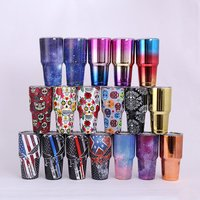 Wholesale Food Grade 30 Oz Vacuum Tumbler Insulated Customized logo glass Stainless Steel Tumbler insulated