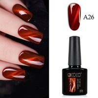 GDCOCO 3D Cat Eye Gel 2018 Flame Red Color Nail Gel Polish Gel Varnish Lacquer wholesale factory led glitter soak off canny