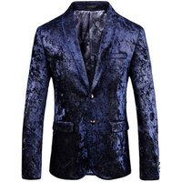 Adult Size Navy Blue Tuxedo Wedding Man Business Suit