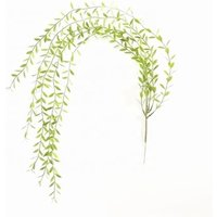 Natural artificial wall hanging rattan plastic garland vines plants decoration for artificial plants