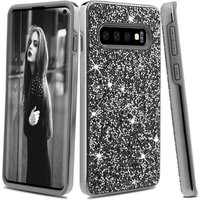 S10 Mobile Phone Case Cover , For Samsung Galaxy S10 Bling Bling Diamond Phone Case