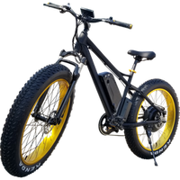 Hot Selling 26 inch fat tire Electric Bicycle 48v 500w powerful Hub Motor Electric Bike