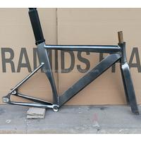 High lever track bike frame fork seat post