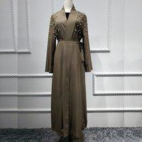 Dubai fashion abaya latest designs muslim women coats wholesale islamic clothing evening party wearing
