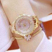 Women Watches 2019 Luxury Brand Ladies Dress Watches Stainless Steel Diamond Watch Quartz Clock Relogio Feminino