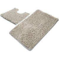 bathroom chenille 2 piece bath mat bath rug set