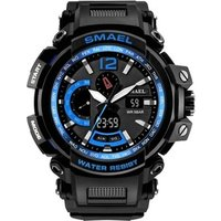 SMAEL Watch 1702 Brand Fashion Military Silicone S Shock Watches Men Wrist Digital Electronic Wristwatches Relogio Masculino