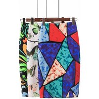 African Print Pencil Skirt for summer