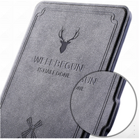 'Flip Cover For Amazon Kindle Paperwhite Leather Case For Kindle Paperwhite Smart Shell Case