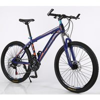 High quality factory direct sale of msep 26inch mountain bike 21 - speed carbon steel frame cheap mountain bicycle
