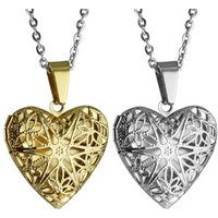 STN648 Stainless Steel Jewelry Fashion Heart Necklaces Locket Pendant Necklace