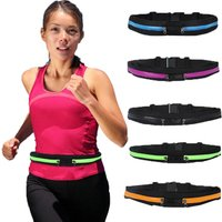 Factory Price Outdoor Custom Sport bag Waterproof  belt waist Running bag