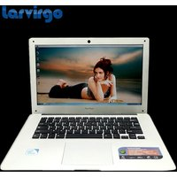 Free shipping 14 inch laptop 2.0 GHz 4G DDR3 750G HDD WIN7/8 notebook Intel Pentium Quad core ultrabook laptop computer