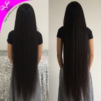 Wholesale high quality virgin mink brazilian straight 150% density 30 inch 40 inch human hair full lace wig