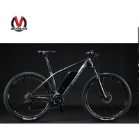 New arrival Carbon electric bicycle electric MTB bike light weight carbon electric mountain ebike