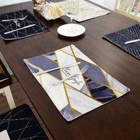 Factory direct cotton linen eat mat linen placemat dining table mat for table decorative
