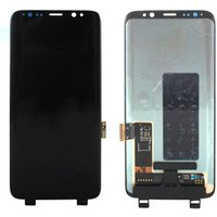 Mobile phones LCD Touch Screen Digitizer Frame Replacement For Samsung Galaxy S9/ S8