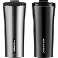 'Valentine's Day Leak Proof  Bpa-free Durable Double Walled Insulated Vacuum Travel Auto Stainless Steel Coffee Mug