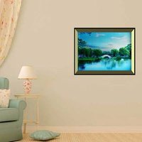 Wireless Flat Panel Bluetooth Speaker, HD Surround Sound and Bass HomeandOffice Wall/Bookshelf /wall Picture Frame Speaker