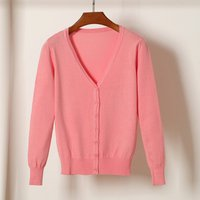 ladies and women knitted open cardigan for Spring and Autumn