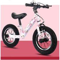 steel frame high quality fat tires kids balance bike no pedal children bicycle baby training push bike practise bicycle