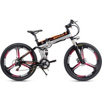 3 Knife 12.8AH LG Battery Optional Folding Electric Bicycle With 48V 250W/350W Motor