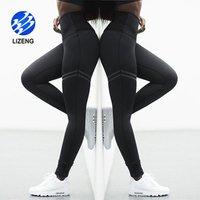 Solid Color 4 Way Stretch Fabric Tummy Control High Waist Yoga Leggings