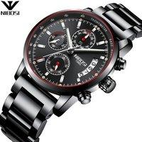 NIBOSI Wrist Watch Wholesale Classic Mens Dress Watch with Chronograph Quartz Movement