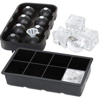 'The Best Original Spherical Clear Ice Cream Maker Round Mold Ice Ball Sphere Shaped Silicone Ice Cube Tray