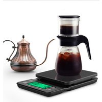 NEW Digital drip coffee scale 3000g 0.1g electronic Coffee Kitchen scale with timer function