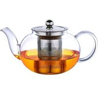Wholesale Glass Tea Pot with stainless steel filter,Teapot with Infuser
